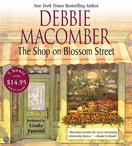 Debbie Macomber The Shop On Blossom Street CD Low Price Abridged