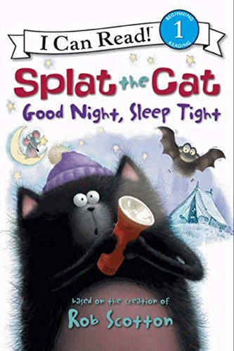 Rob Scotton Splat The Cat Good Night Sleep Tight