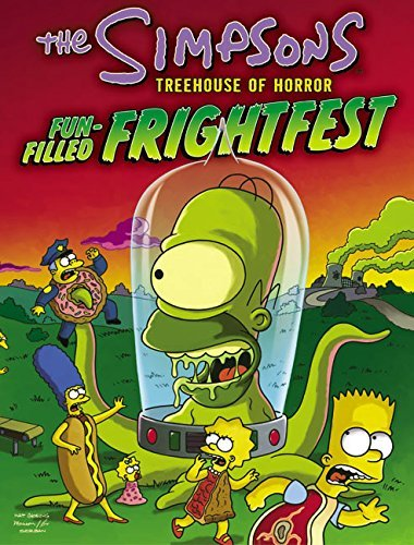 Matt Groening The Simpsons Treehouse Of Horror Fun Filled Fright