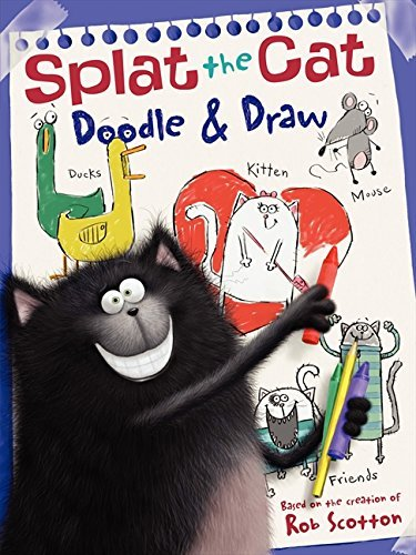 Rob Scotton Doodle & Draw A Coloring & Activity Book