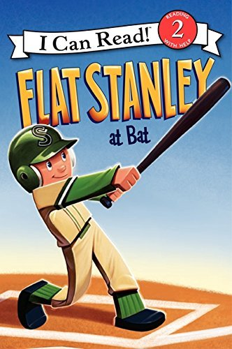 Jeff Brown Flat Stanley At Bat