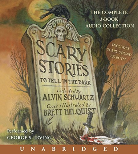 Alvin Schwartz Scary Stories Audio CD Collection