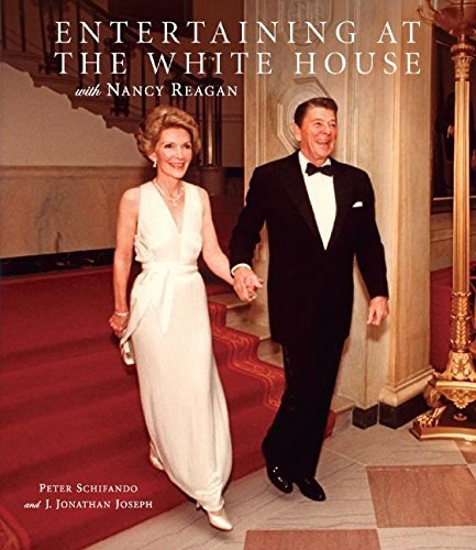 Peter Schifando Entertaining At The White House With Nancy Reagan
