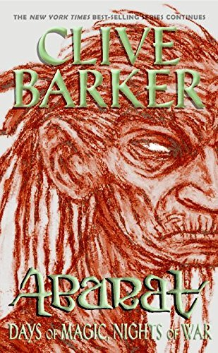 Clive Barker Abarat Days Of Magic Nights Of War