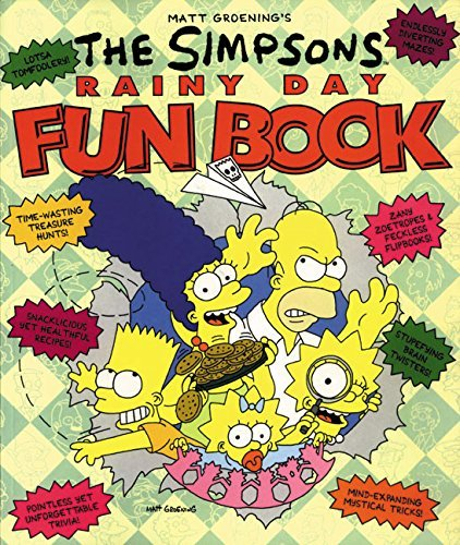 Matt Groening The Simpsons Rainy Day Fun Book