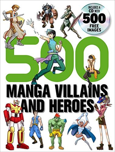 Yishan Li 500 Manga Villains And Heroes