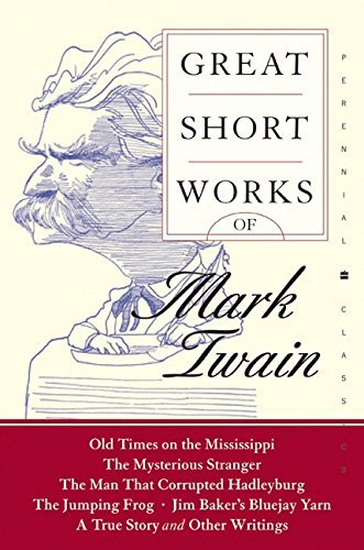 Mark Twain Great Short Works Of Mark Twain