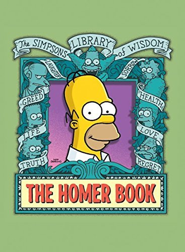 Matt Groening The Homer Book