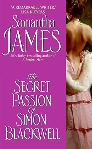 Samantha James The Secret Passion Of Simon Blackwell