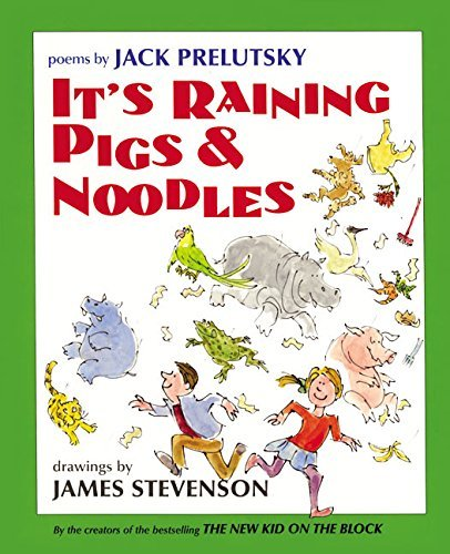 Jack Prelutsky It's Raining Pigs & Noodles