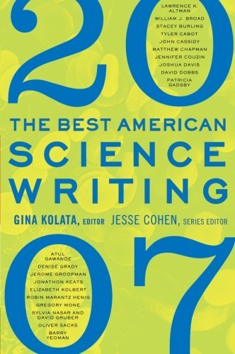 Gina Kolata The Best American Science Writing 2007