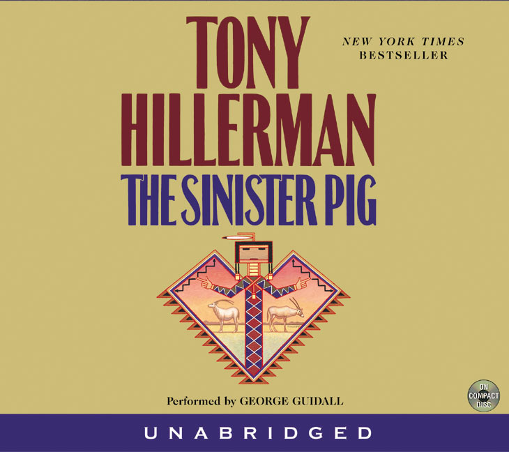 Tony Hillerman The Sinister Pig CD