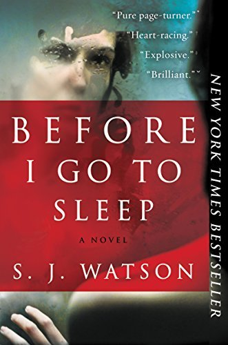 S. J. Watson Before I Go To Sleep