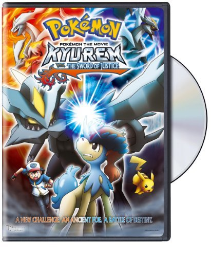 Pokemon The Movie Kyurem Vs Sword Of Justice DVD A