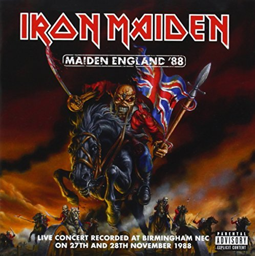 Iron Maiden Maiden England '88 Explicit Version 2 CD