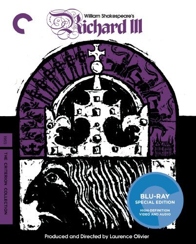 Richard Iii Olivier Richardson Gielgud Blu Ray Ws Nr Criterion Collection