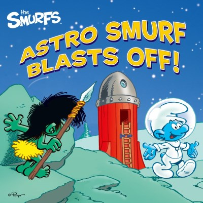 Peyo Astro Smurf Blasts Off!