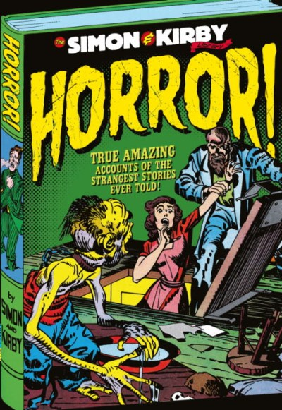 Joe Simon The Simon And Kirby Library Horror
