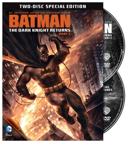 Batman Batman Dark Knight Returns Pt Special Ed. Pg13 2 DVD