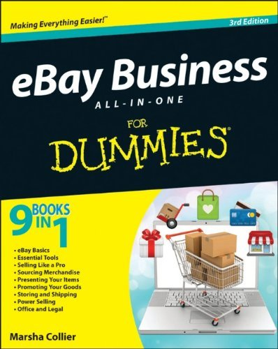 Marsha Collier Ebay Business All In One For Dummies 0003 Edition;revised