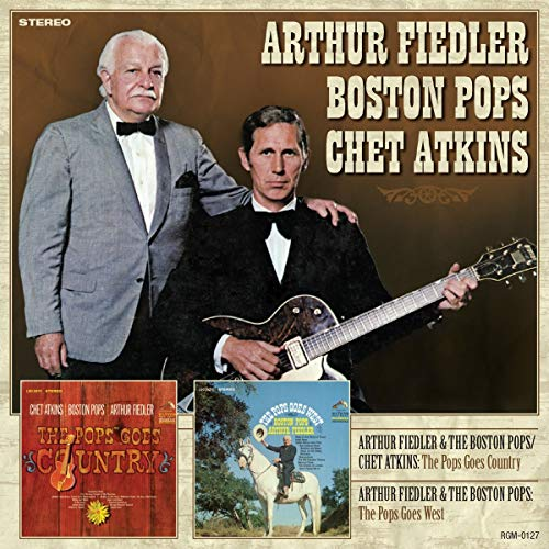 Arthur Boston Pops Che Fiedler Pops Goes Country The Pops Goe