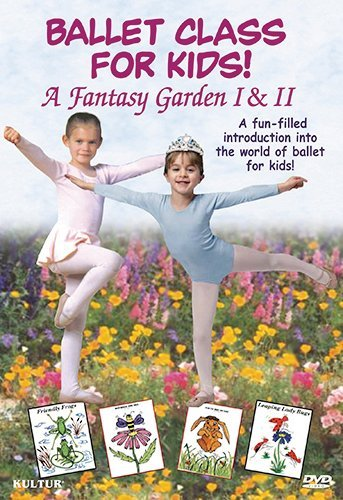 Ballet Class For Kids Fantasy Garden 1 & 2 Boross Rosemary Nr Ntsc(1)