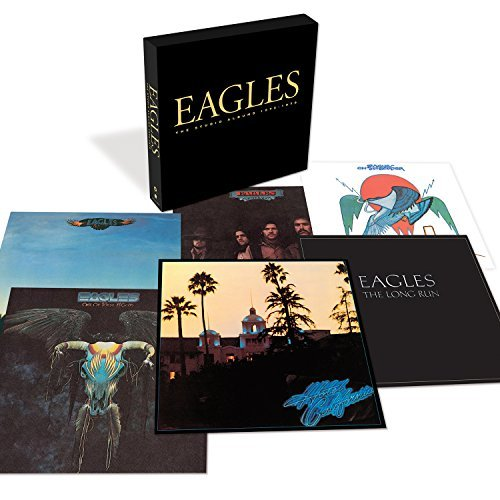 Eagles Studio Albums 1972 1979 6 CD