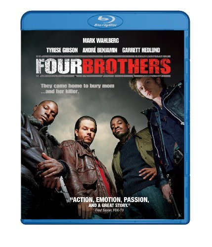 Four Brothers Wahlberg Gibson Howard Blu Ray Ws R