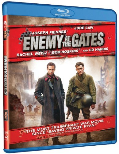 Enemy At The Gates Law Fiennes Harris Blu Ray Ws R