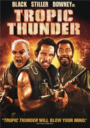 Tropic Thunder Stiller Black Downey Nolte DVD R Ws