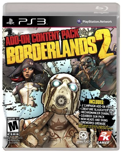 Ps3 Borderlands 2 Add On Pack Take 2 Interactive M
