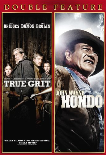 True Grit Hondo Double Feature Ws Pg13 2 DVD
