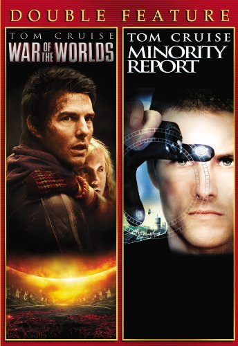 War Of The Worlds (2005) Minority Report Double Feature Ws Pg13 2 DVD