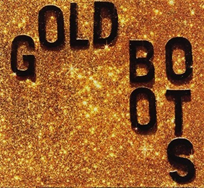 Wheeler Brothers Gold Boots Glitter