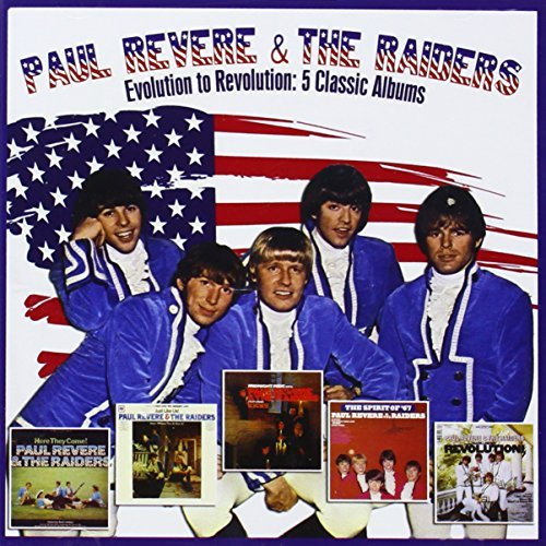Paul & The Raiders Revere Evolution To Revolution 5 Cla 2 CD Set