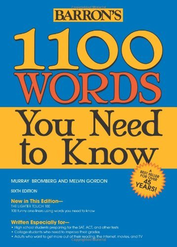 Murray Bromberg 1100 Words You Need To Know 0006 Edition;