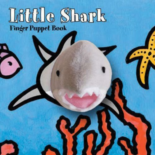 Klaartje Van Der Put Little Shark Finger Puppet Book