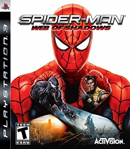 Ps3 Spider Man Web Of Shadows
