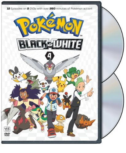 Pokemon Black & White Set 4 DVD Nr