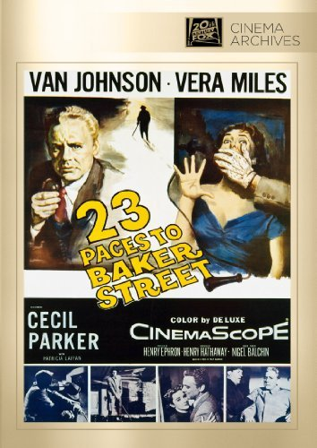 23 Paces To Baker Street Johnson Miles Park DVD Mod This Item Is Made On Demand Could Take 2 3 Weeks For Delivery