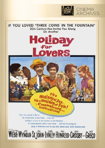 Holiday For Lovers Webb Wyman St. John Lynley Hen DVD Mod This Item Is Made On Demand Could Take 2 3 Weeks For Delivery