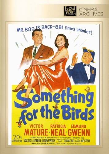 Something For The Birds Mature Neal Gwenn DVD R Bw Nr
