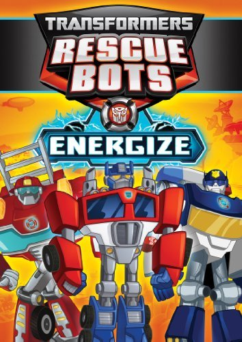 Transformers Rescue Bots Energize DVD Tvy Ws