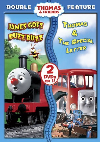Thomas & Friends James Goes Buzz Buzz Thomas & The Special Letter