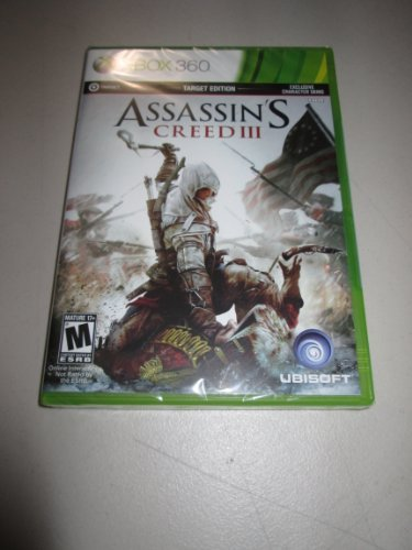 Xbox 360 Assassin's Creed 3 Target Edition
