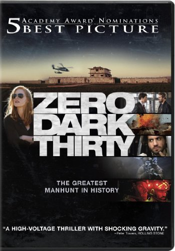 Zero Dark Thirty Chastain Edgerton Pratt DVD Uv R Ws