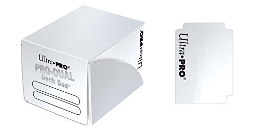 Deck Box Pro Dual White Holds 120 Cards