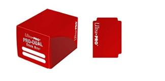 Deck Box Pro Dual Red Holds 120 Cards