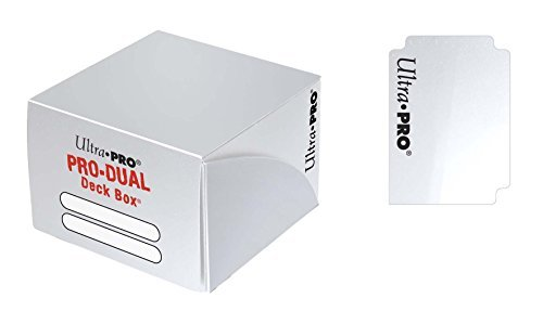 Deck Box Pro Dual White Large Holds 180 Cars