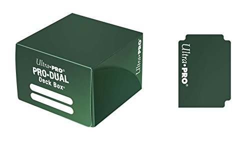 Deck Box Pro Dual Green Large Holds 180 Cards